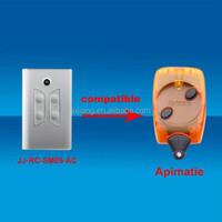 Universal garage gate door compatible remote control for APRIMATIC JJ-RC-SM05-AC