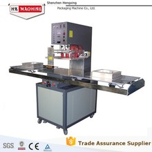 High quality cheap price leather cover heating welding forming machine from Hengxing HX-8000S