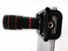 Universal fixture black white 8x smartphone zoom lens for mobile phone camera lens with super good price