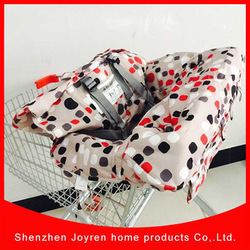 Wholesaler baby shopping cover cart, folding shopping cart, shopping bag for sale
