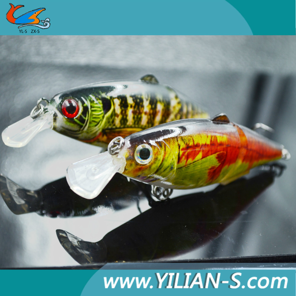 Mini jointed fishing lures lake trout lures fishing tackle for Lake trout fishing lures