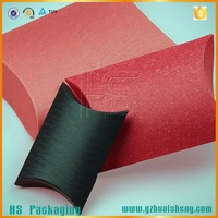 large custom printed paper pillow gift boxes packaging