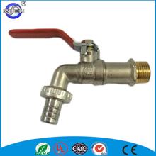 Nickel plated cw617n brass faucet long handle water brass bibcock tap