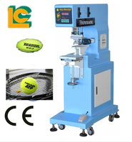 1-Colour Large Size Sealed Ink Cup Pad Printing Machine for toyes, gift products, pen, PE products, golf ball pack LC-PM1-250T