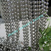 Honby Supply Shinning Silver Metal Beaded Door Curtain