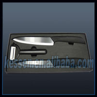 "chinese ceramic knife 3""mirror black blade zirconia ceramic knife"