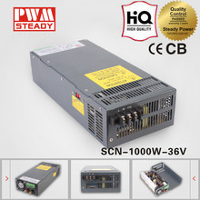 36v 1000w camera ac adapter test transformator mental case cover strip led switching model power supply