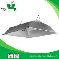 hydroponic double ended reflector/grow reflector/ceiling led grid light