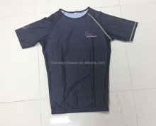 blank rash guard shirt&custom made rash guard
