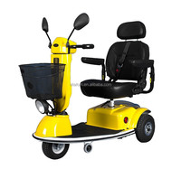Vitafom -- 3 Wheel Mobility Scooter for Adult, Middle Size, Yellow