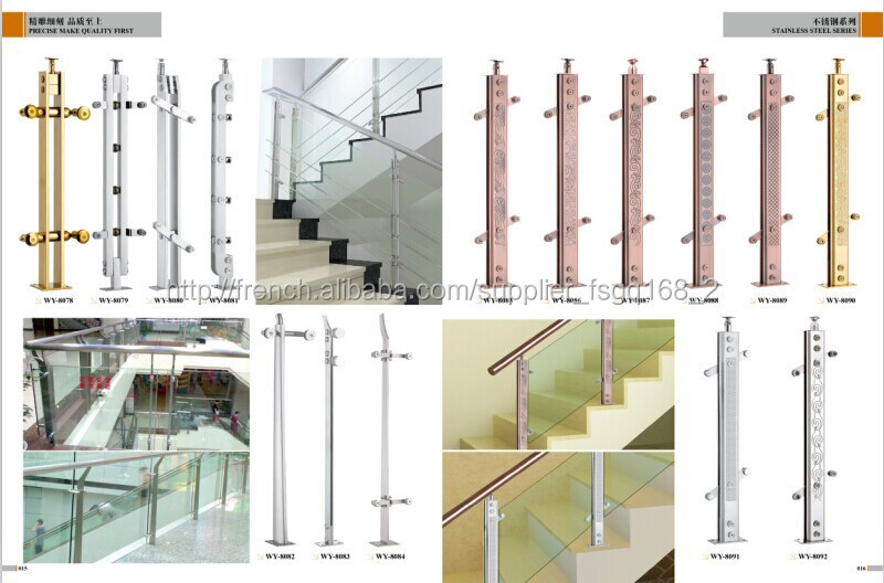 Balustre de rampes d 39 escalier int rieur en fer forg for Balustrade bois interieur