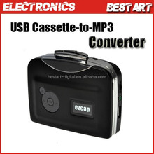 New audio cassette player recorder, convert cassette to mp3 in U Flash Disk directly