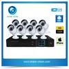 8ch 720p / 1080p outdoor indoor ip camera nvr kit, hotel security equipment