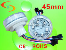 waterproof 45mm rgb pixel 6pcs smd5050 led changing color effect for amusement