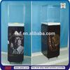 TSD-W255 factory custom free standing acrylic wine showcase/wine bottle display case/wine display cabinet