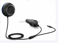 Popular hands free aux bluetooth car kit V4.0 Version for mobile phone talk & play
