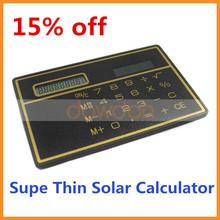 15% kapalı sıcak satış ince mini güneş cep hesap makinesi toptan
