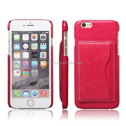 Best selling products pu leather multi credit card holder case leather cheap mobile phone case for iphone 6 made in china