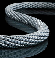 Galvanized Carbon Steel Wire Rope Price Wire Rope, factory directly sale