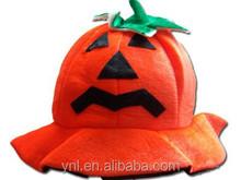 Funny halloween costume pumpkin hat