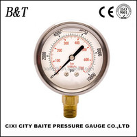 Y63A With Black Case Or Plastic case ,Plastic Snap-in Len,Vacuum pressure gauge