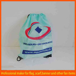 wholesale cheap printed cute drawstring bags
