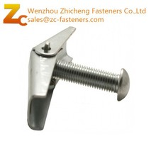 6-32 x 2 Slotted Round Toggle Bolt Witch Wing