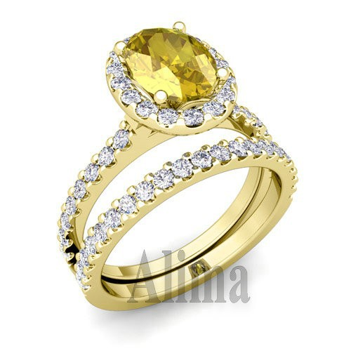 y00500 wholesale jewelry yellow gold engagement