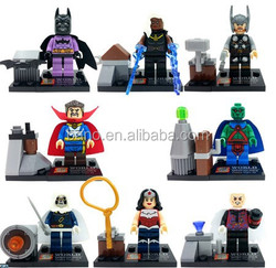SY266 Building Blocks Super Heroes Minifigures Heroes Assemble Wonder Woman Batman Bricks Mini Figures Toys