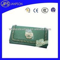 men\s pu wallet wallet leather green color women wallet
