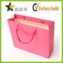 2015 China OEM factory custom paper bag/paper shopping bag/paper gift bag