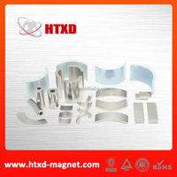 Neodymium segment magnet curved magnet generator magnet