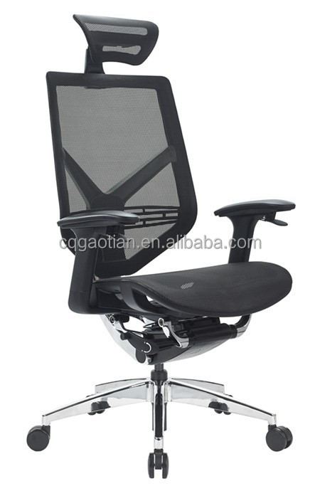 Adjustable Arm Modern High Back Executive Office Chair Ergonomic Seating Bu