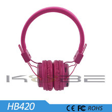 fancy color stereo headphones with mic for MP3 Player