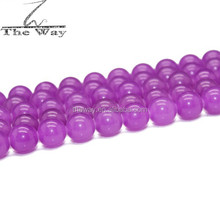 10mm Violet purple jade beads Cheap Jade beads Loose Beads for DIY jewelry making