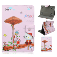 Cute Wholesale Hello Kitty New Products For Ipad Mini PU Leather Printing Case