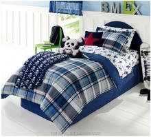 China supplier 100% polyester microfiber heat transfer printed 6 pcs comforter sets, design for boy, heat transfer printing