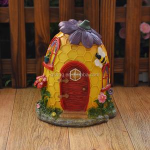 Миниатюрный смолы улей Фея село садовые домики