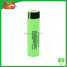 NCR 18650 battery cell 3.7V 3400mah lithium rechargeable battery powered heat lamp
