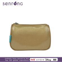 personalized white nylon mesh cosmetic bags print cosmetic bag