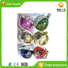 Best Design Hot Promotional Set Balls Family Holiday Christmas Balls Wholesale
