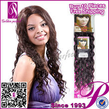 Promoción sin procesar peruano de la virgen barato extensiones de cabello rizado cinta
