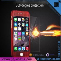 Wholesale Mobile phone accessories pc case 360 degree full protective phone case for Apple iphone 6 i6 plus