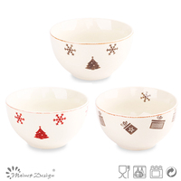 white ceramic dog bowl