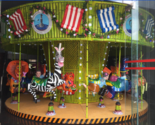 HOTSELLING!!!AIR PLANE MINI MERRY GO ROUND SMALL AMUSEMENT RIDES