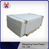 Huao hdpe sheet plastic flooring red uhmwpe sheet