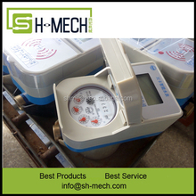 China suppliers Digital gallon cubic anti radiation water meter