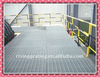 galvanized or painted mild steel bar grating canal covers