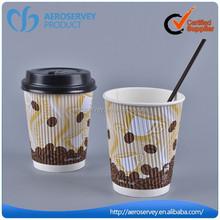 Hot sale custom wholesale disposable paper coffe cup