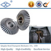 MMSG2.5-20R JIS standard steel 35 degrees helical angle spiral bevel gear forging